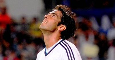 Kaka: Was sent off for Real after coming on as a substitute