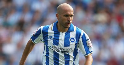 Bruno: Still absent for Brighton