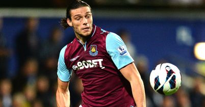 Andy Carroll: Set to come up against Manchester United for West Ham in midweek