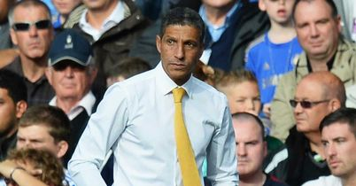 Chris Hughton: Norwich boss hailed the display against Manchester United