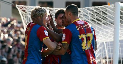 Glenn Murray: Mobbed after scoring