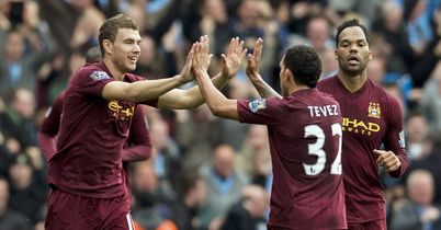 Edin Dzeko: Likely to return to Germany this summer