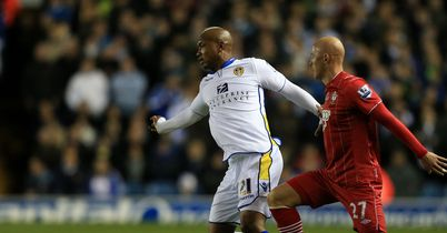 El Hadji Diouf: Yet to agree a deal to extend his stay at Elland Road