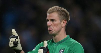 Joe Hart: Facing a battle to keep jersey