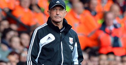 Tony Pulis: Needs all his strikers at his disposal during busy period