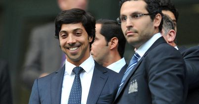 Sheikh Mansour and Khaldoon Al Mubarak: City money men