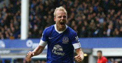 Steven Naismith: First Everton goal secures a point in Merseyside derby