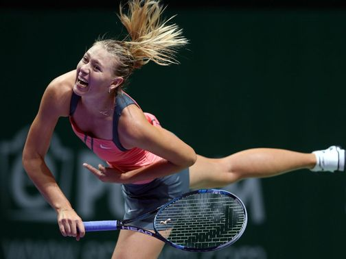 Maria Sharapova: Doubt for the Australian Open