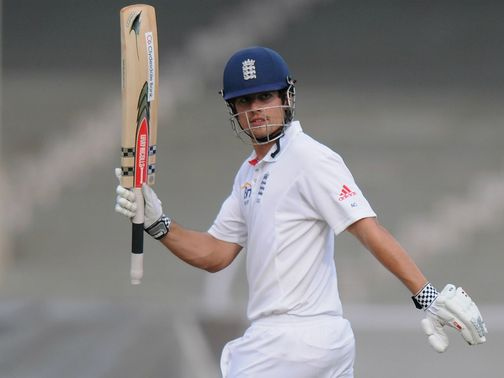 Alastair Cook looks for Ashes glory.