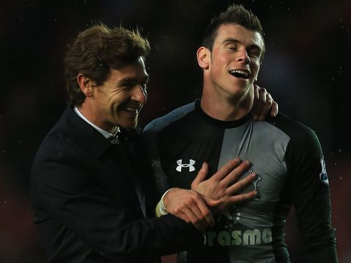 Villas-Boas is pleased to have Bale back.