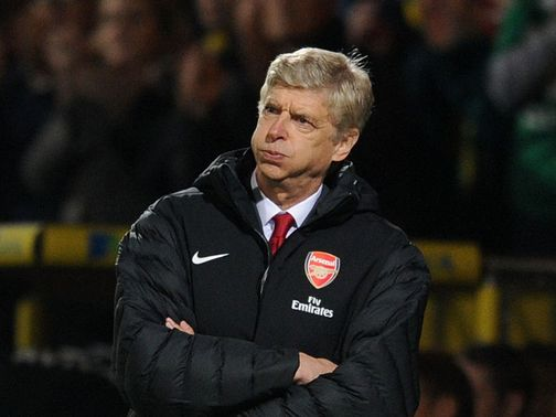 Arsene Wenger expects a response from his side
