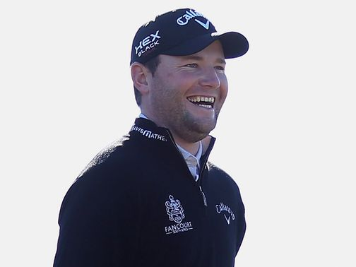 Branden Grace: Led from round one to the finish