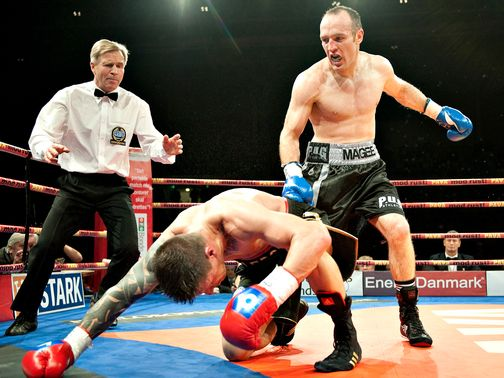 Brian Magee defends his WBA title against Mikkel Kessler this Saturday.