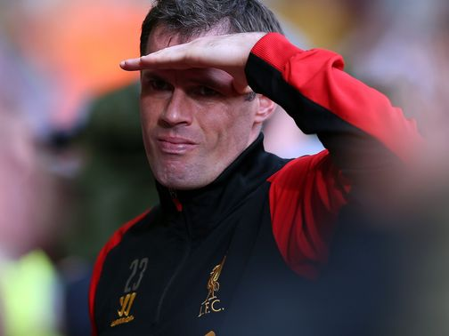 Jamie Carragher: Eyeing a top-four finish
