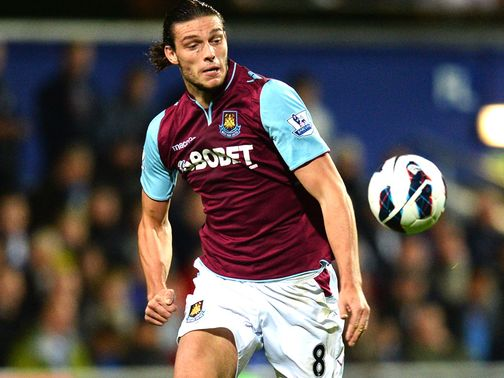 Andy Carroll: Loaned to West Ham