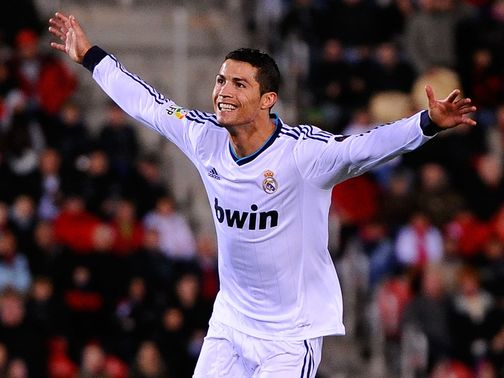 Ronaldo: Two more goals for Real Madrid