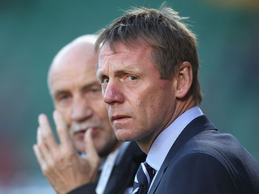 Stuart Pearce: Set for talks with the FA in the summer