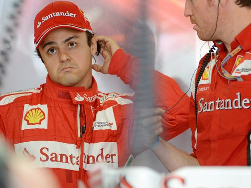 Massa: Will race with Ferrari in 2013