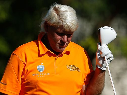 John Daly had a day to forget
