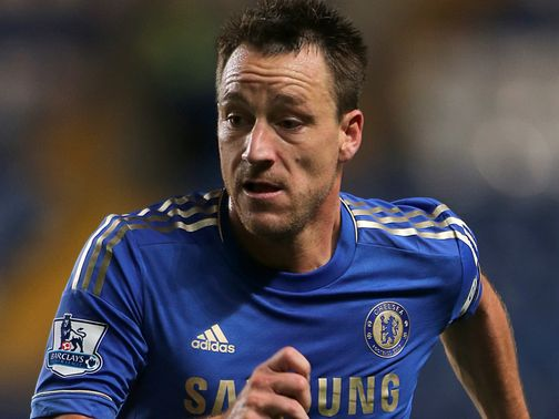 John Terry: Served last game of suspension against Swansea