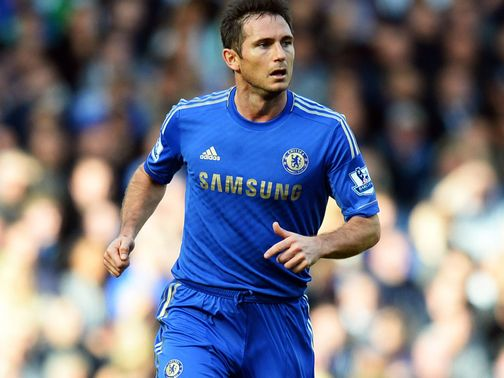 Frank Lampard: Calf injury