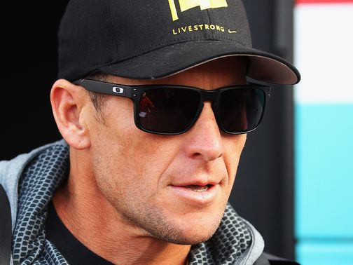 Lance Armstrong: Received a life ban