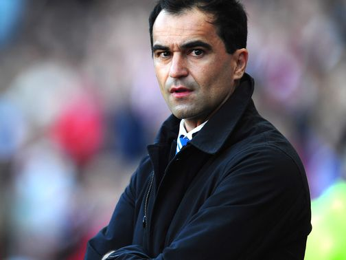 Roberto Martinez: Frustrated after voicing his opinion