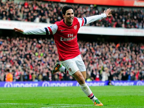 Mikel Arteta: Has won praise from former boss