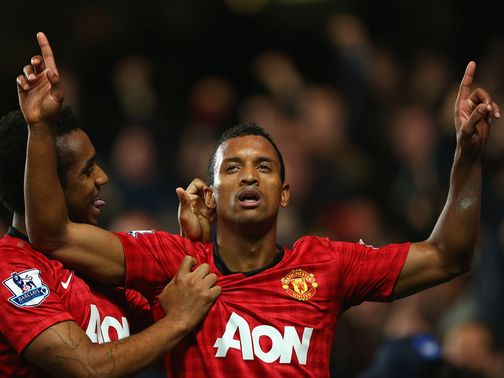 Nani: Set to return for Manchester United