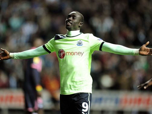 Papiss Cisse: Back on target against Bordeaux