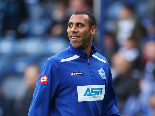 Anton Ferdinand: Joined by QPR team-mates in protest