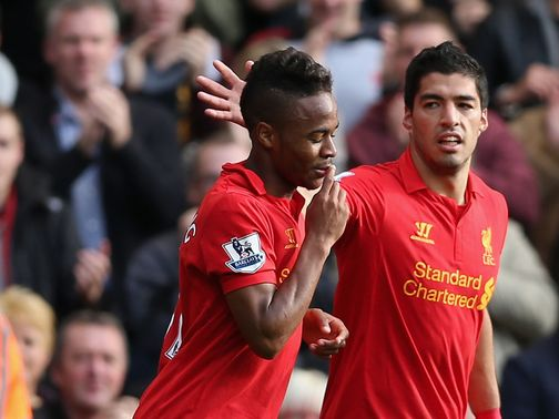 Raheem Sterling: Scored for Liverpool