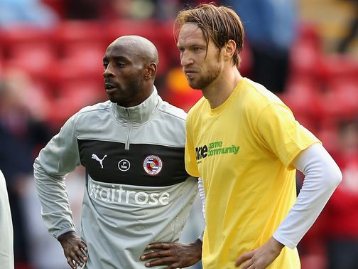 Jason Roberts didn't wear a Kick It Out T-shirt