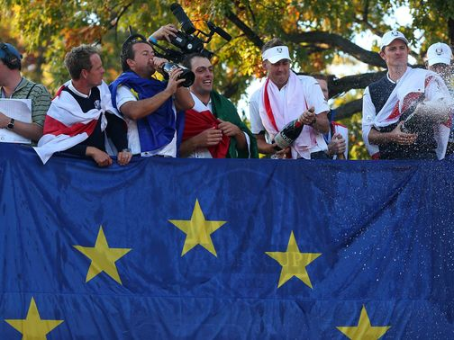 Europe's Ryder Cup win was good news for readers of this column.