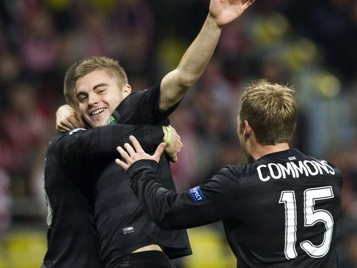 James Forrest: Should be fit to face Juve