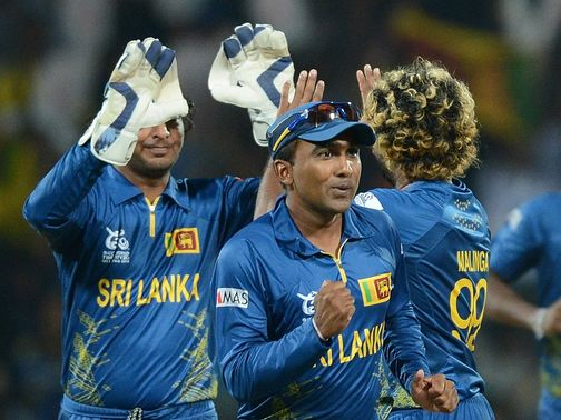 Sri Lanka booked their place in the semi-finals