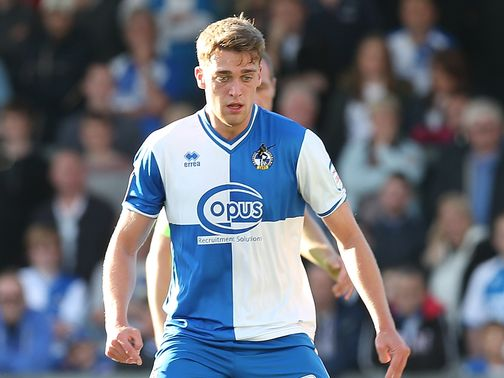 Tom Eaves pictured while at Bristol Rovers