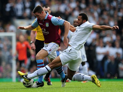 Tottenham v Aston Villa Ciaran Clark Mousa De 2841318 Individual Highlights: Mousa Dembeles dominant display for Spurs in win over Aston Villa