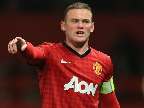 Rooney: In danger of losing his penalty taking duties