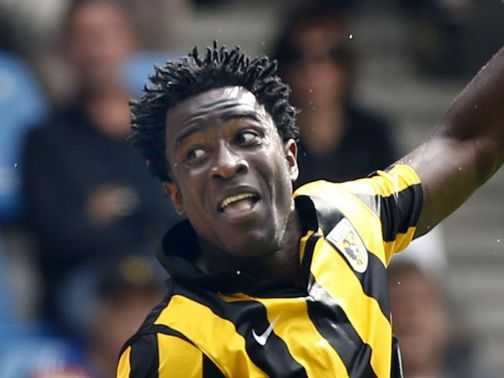 Wilfried Bony: Willing to leave Vitesse