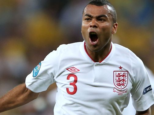 Ashley Cole: Held his hands up