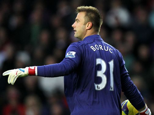 Artur Boruc: Threw a water bottle at Southampton fans