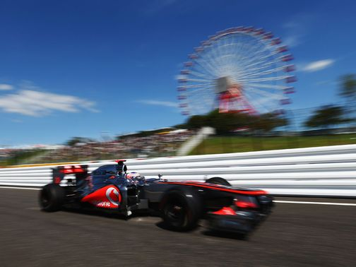Jenson Button: Fastest in first practice at Suzuka