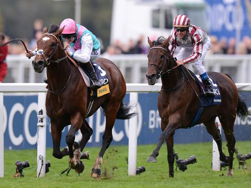 You can watch Frankel's weekend win on the archive