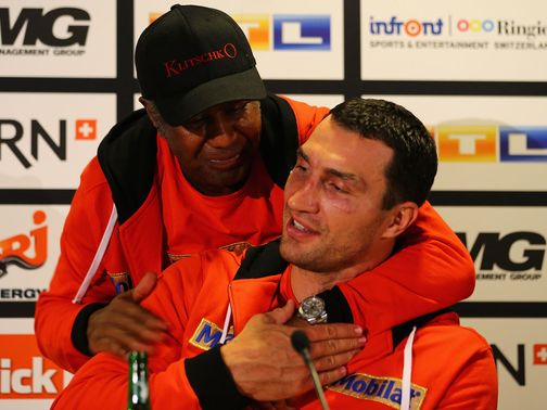 Wladimir Klitschko: Steward's spirit lives on