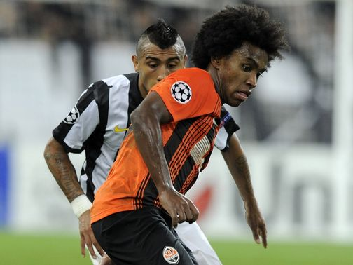 Willian: Has been linked with Chelsea and Spurs