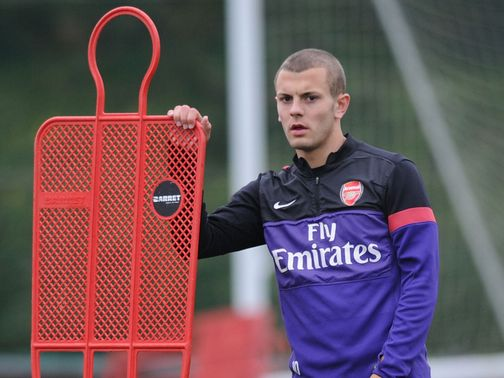 Jack Wilshere: Back in the England squad