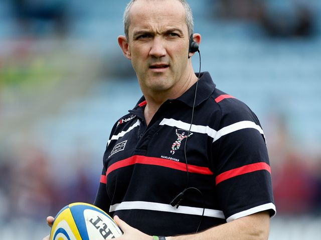 Conor O'Shea: Harlequins' director of rugby