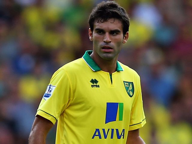 Javier Garrido: Keen to leave Lazio for Norwich permanently