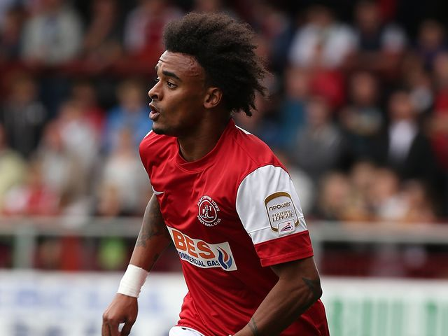 Junior Brown: Bagged an injury-time goal
